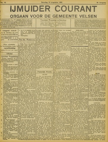IJmuider Courant 1921-08-13