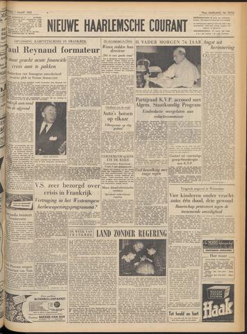 Nieuwe Haarlemsche Courant 1952-03-01