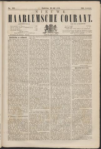 Nieuwe Haarlemsche Courant 1885-07-30