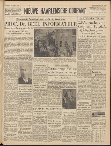 Nieuwe Haarlemsche Courant 1959-03-16