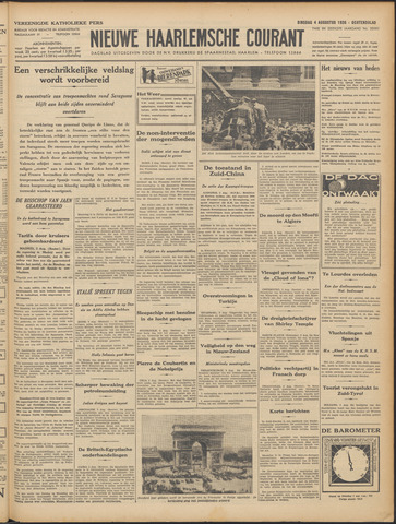 Nieuwe Haarlemsche Courant 1936-08-04