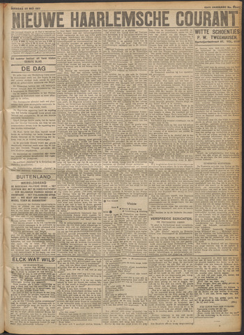 Nieuwe Haarlemsche Courant 1917-05-22