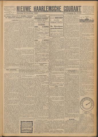Nieuwe Haarlemsche Courant 1922-11-25