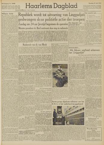 Haarlem's Dagblad 1947-07-21