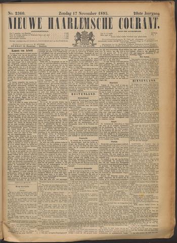 Nieuwe Haarlemsche Courant 1895-11-17