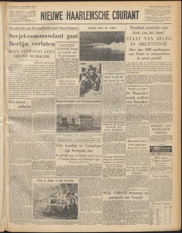 Nieuwe Haarlemsche Courant 1958-11-12