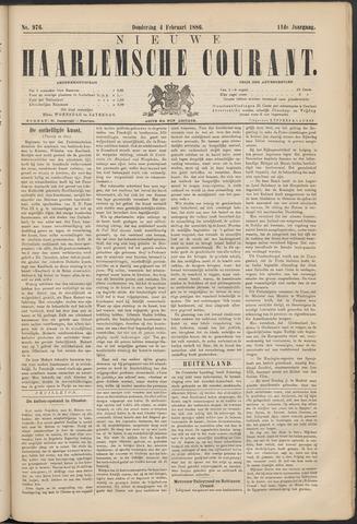 Nieuwe Haarlemsche Courant 1886-02-04