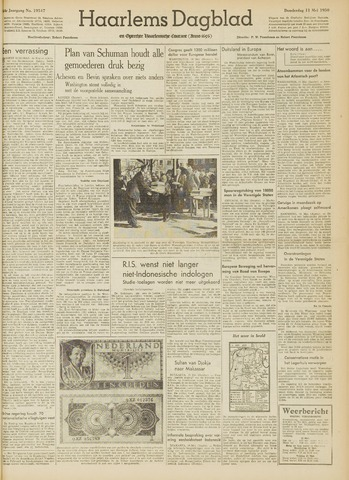 Haarlem's Dagblad 1950-05-11