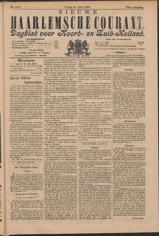 Nieuwe Haarlemsche Courant 1900-04-27