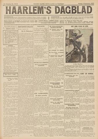 Haarlem's Dagblad 1926-09-03