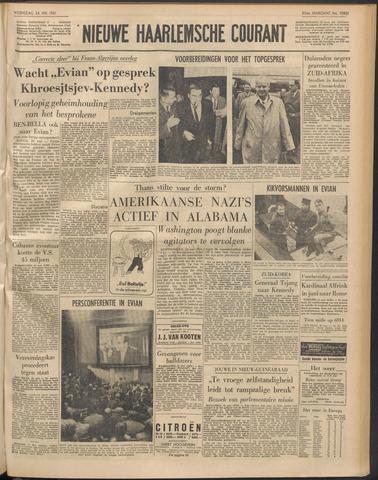 Nieuwe Haarlemsche Courant 1961-05-24