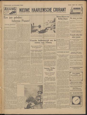 Nieuwe Haarlemsche Courant 1940-03-01