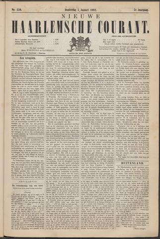 Nieuwe Haarlemsche Courant 1882-01-05