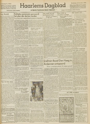 Haarlem's Dagblad 1950-12-14