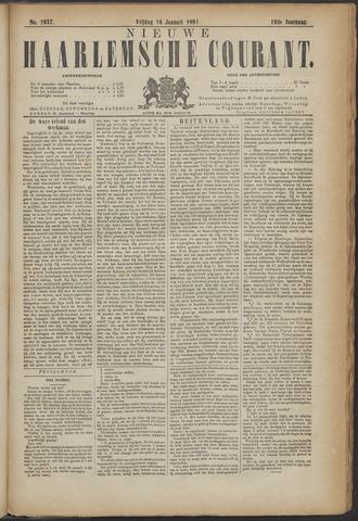 Nieuwe Haarlemsche Courant 1891-01-16