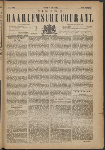 Nieuwe Haarlemsche Courant 1893-06-09