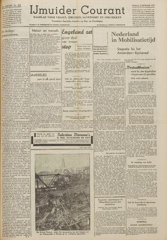 IJmuider Courant 1939-09-08