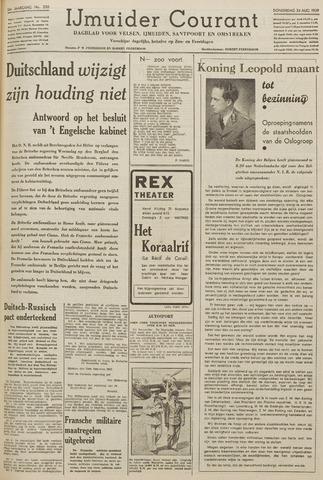 IJmuider Courant 1939-08-24
