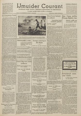 IJmuider Courant 1939-02-01