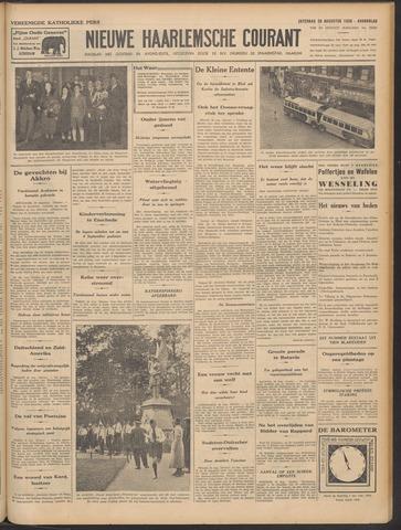Nieuwe Haarlemsche Courant 1938-08-20