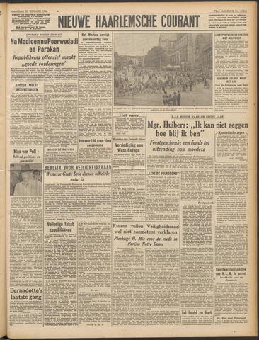 Nieuwe Haarlemsche Courant 1948-09-27