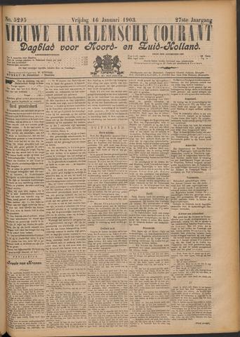 Nieuwe Haarlemsche Courant 1903-01-16