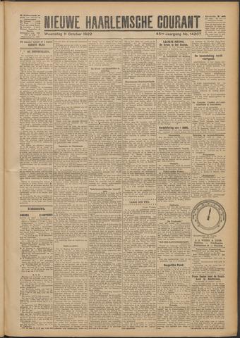 Nieuwe Haarlemsche Courant 1922-10-11