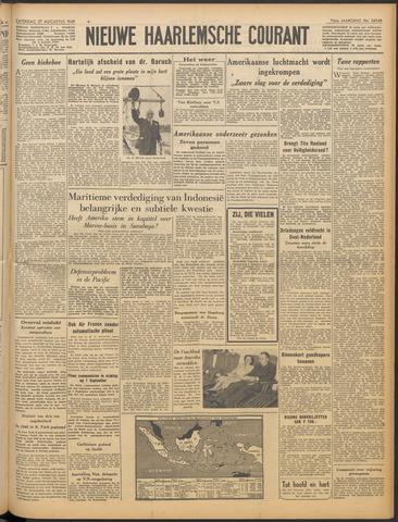 Nieuwe Haarlemsche Courant 1949-08-27