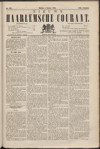 Nieuwe Haarlemsche Courant 1885-10-04