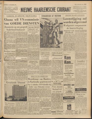 Nieuwe Haarlemsche Courant 1961-11-18