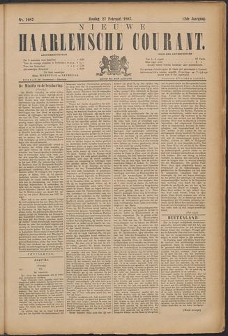 Nieuwe Haarlemsche Courant 1887-02-27