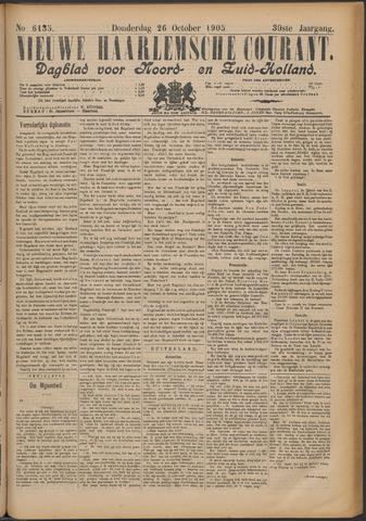 Nieuwe Haarlemsche Courant 1905-10-26