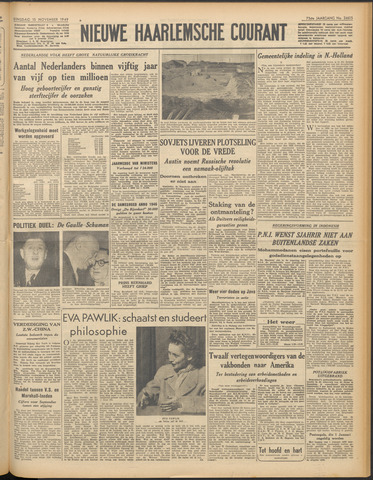 Nieuwe Haarlemsche Courant 1949-11-15