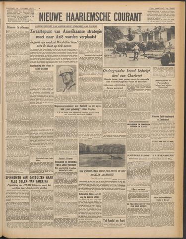 Nieuwe Haarlemsche Courant 1950-02-14