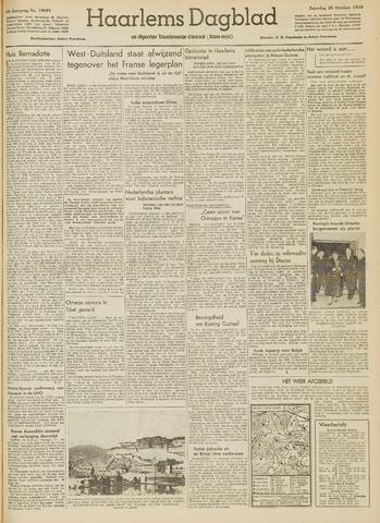 Haarlem's Dagblad 1950-10-28