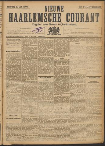 Nieuwe Haarlemsche Courant 1906-10-20