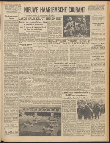 Nieuwe Haarlemsche Courant 1950-08-02
