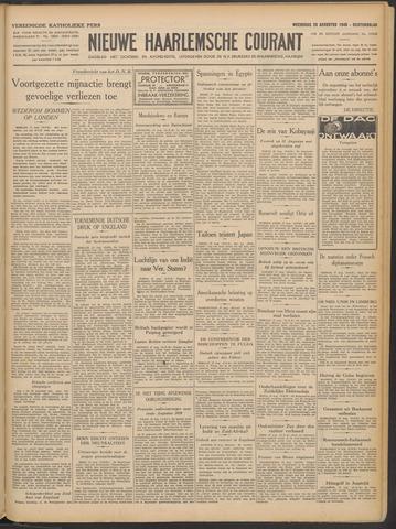 Nieuwe Haarlemsche Courant 1940-08-28