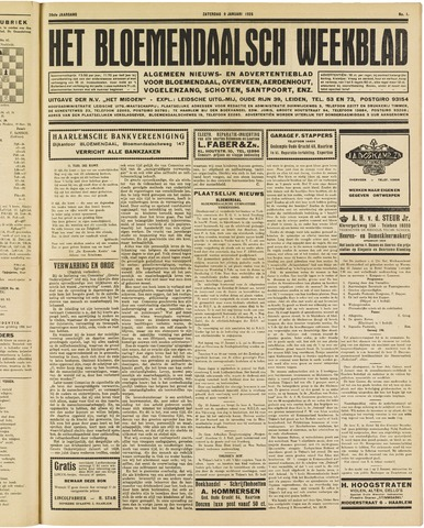 Het Bloemendaalsch Weekblad 1926