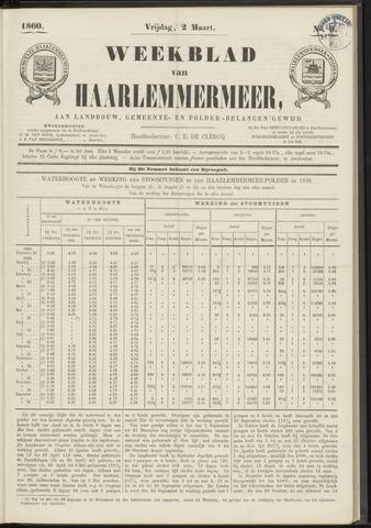 Weekblad van Haarlemmermeer 1860-03-02