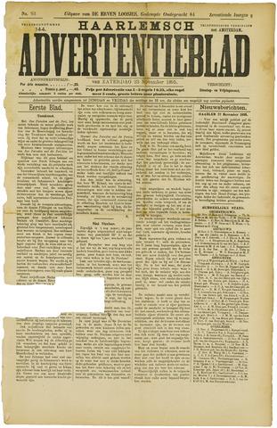 Haarlemsch Advertentieblad 1895-11-23
