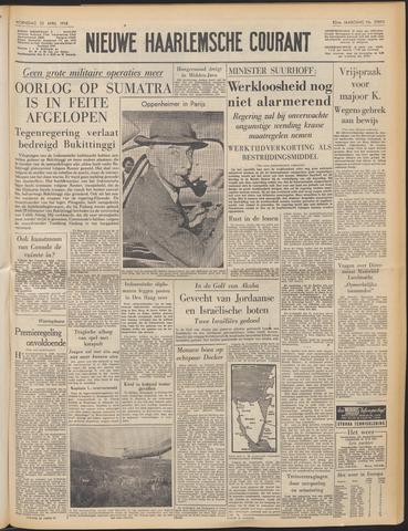 Nieuwe Haarlemsche Courant 1958-04-23