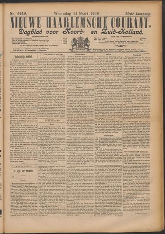 Nieuwe Haarlemsche Courant 1906-03-14