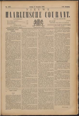 Nieuwe Haarlemsche Courant 1886-12-12