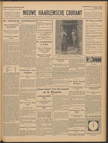 Nieuwe Haarlemsche Courant 1934-07-25