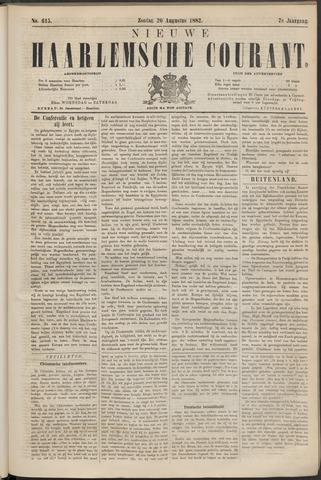 Nieuwe Haarlemsche Courant 1882-08-20