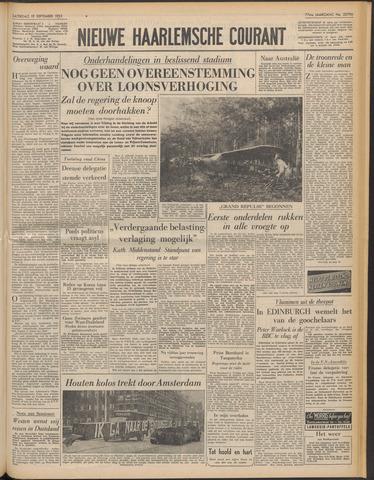 Nieuwe Haarlemsche Courant 1953-09-19