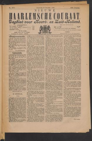 Nieuwe Haarlemsche Courant 1899-12-28
