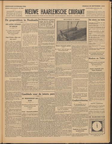 Nieuwe Haarlemsche Courant 1933-09-29