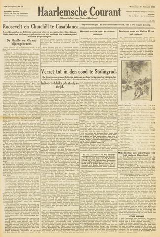 Haarlemsche Courant 1943-01-27